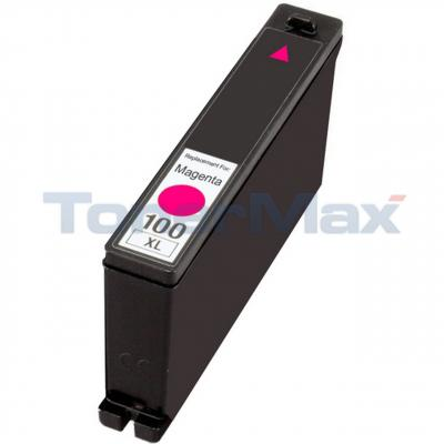 LEXMARK 100XL INK CARTRIDGE MAGENTA RP HY